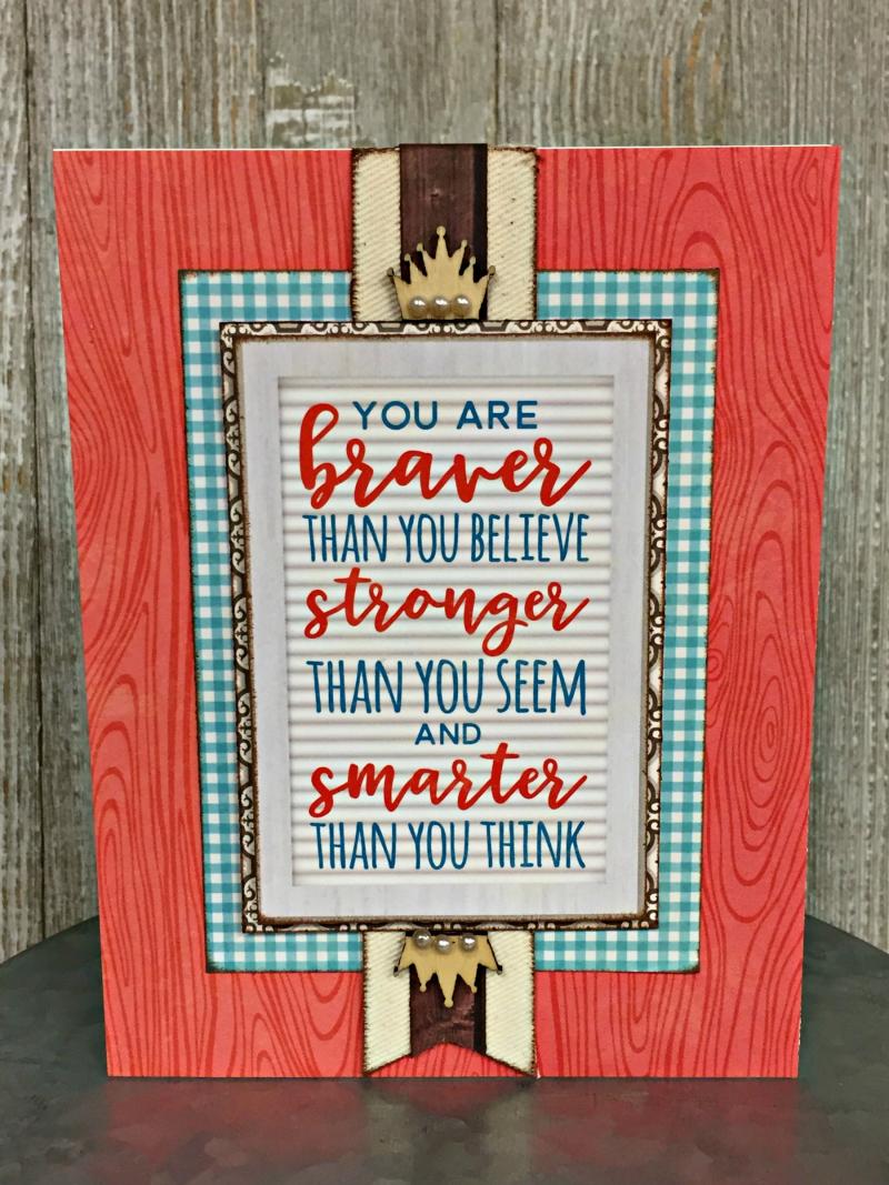 Patty-Braver Card