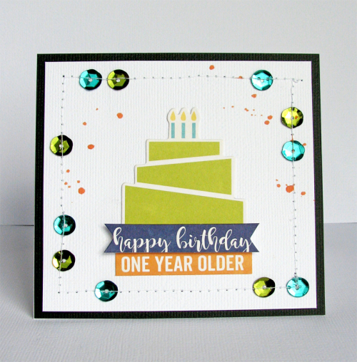 Nicole-One year older cards