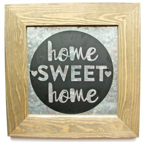 Nicole-Home sweet home sign