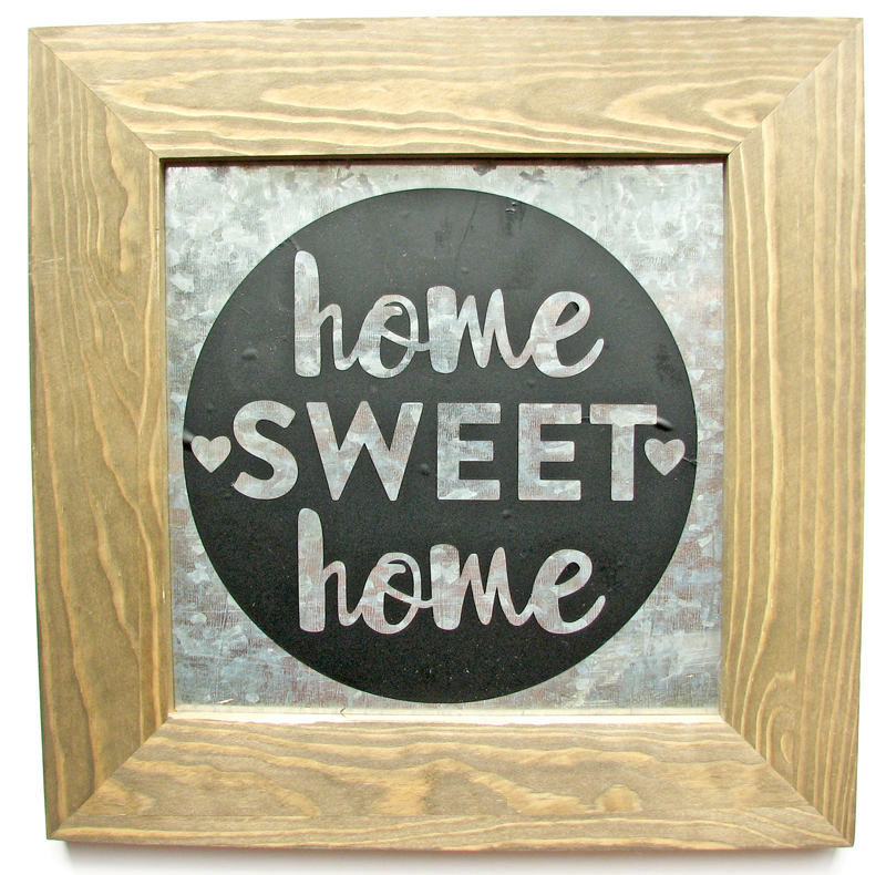 Nicole-Home sweet home sign