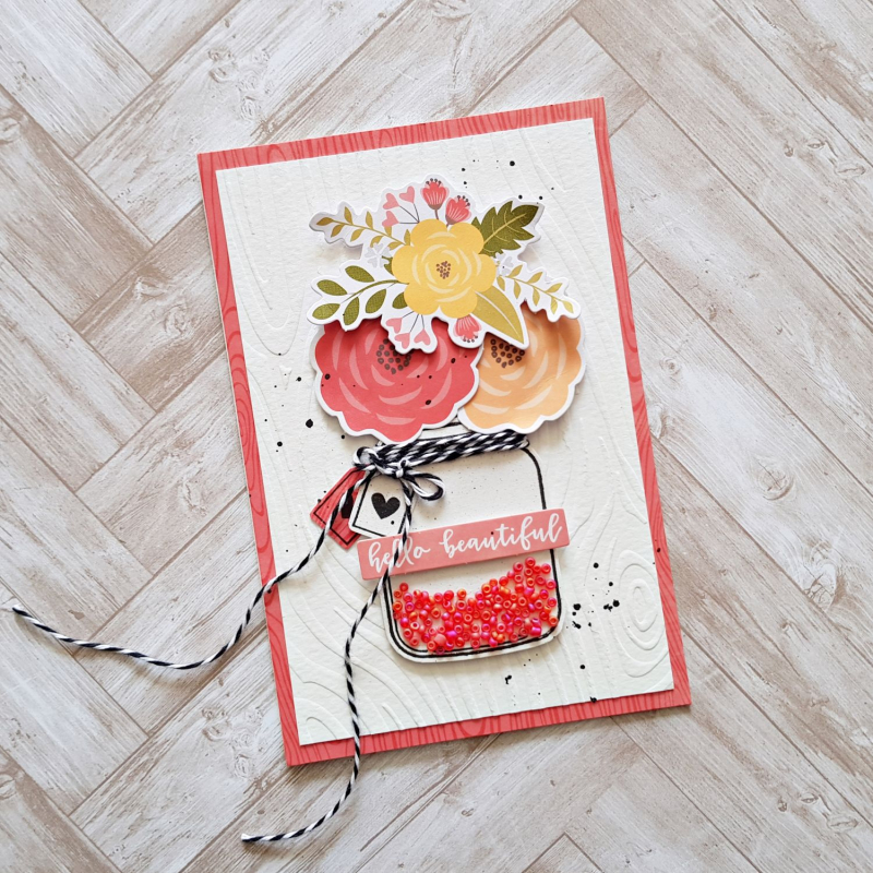 Zsoka-Hello Beautiful card