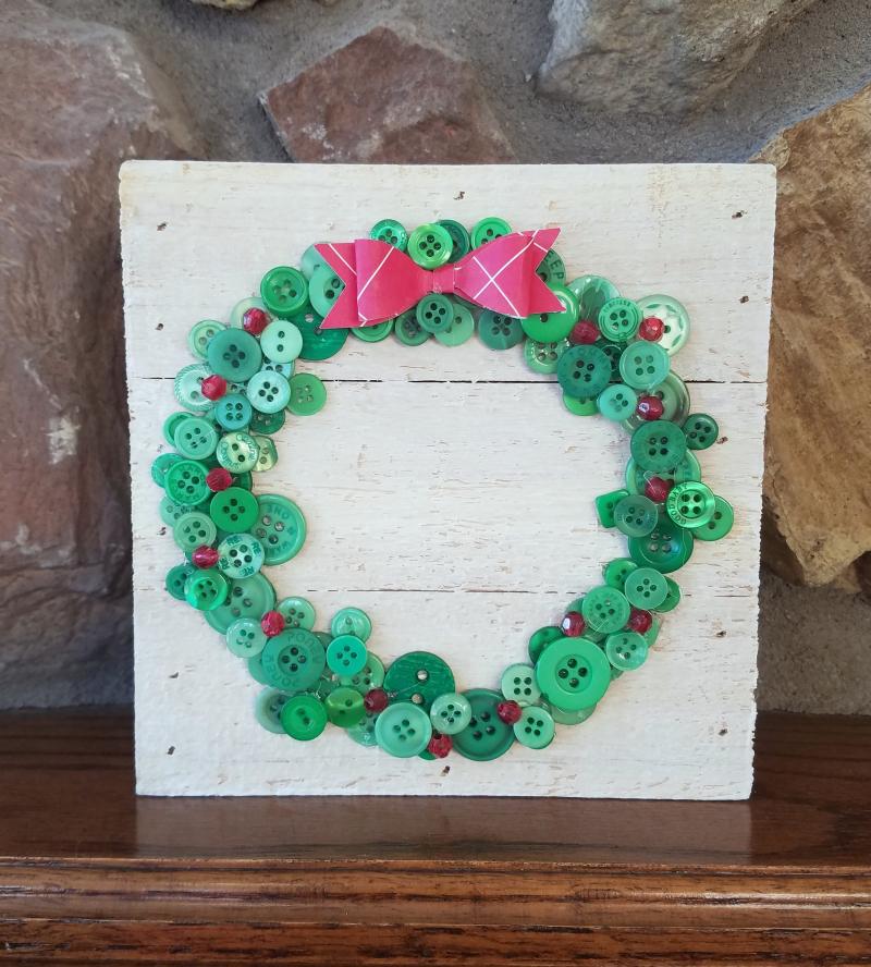 Jillibean Soup-Jenifer Harkin-Button Wreath December