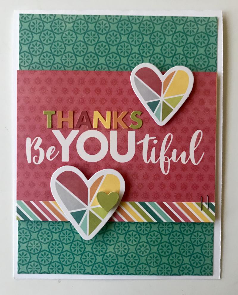 Kimber-Thanks BeYOUtiful Card