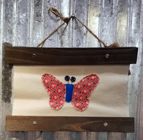 Jillibean Soup Jenifer Harkin Butterfly Canvas