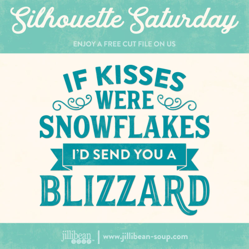Kisses-snowflakes-Free-Cut-File-Silhouette-Saturday