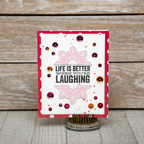Jillibean-Soup-Summer-Fullerton-Wood-Mounted-Stamps-JB0632-Life-is-better-card-Jan-2018