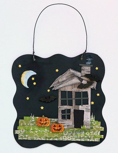 Sarah-Creepy House