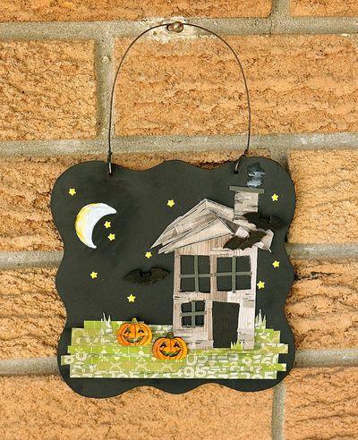 Sarah-Creepy House 1