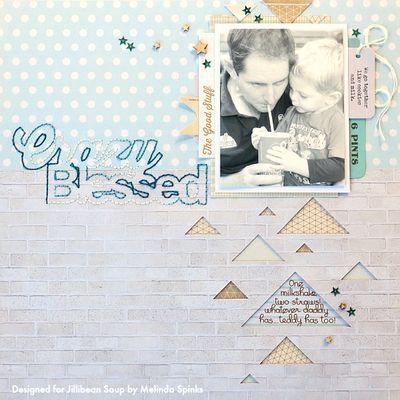 1. JBS - Melinda - Crazy Blessed - Layout