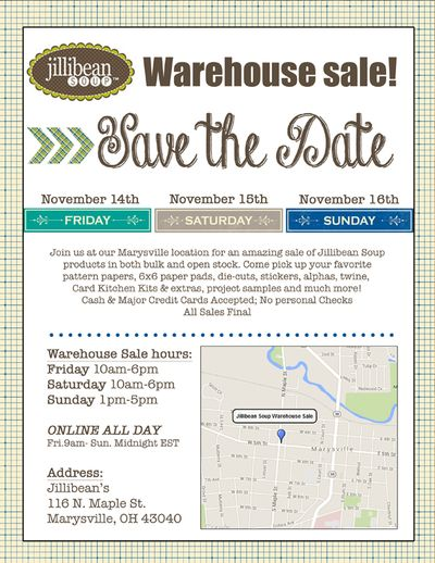 Jb-warehouse sale email