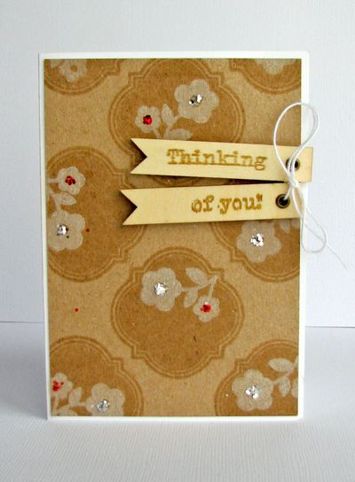 Nicole-thinking of you card