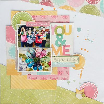 Amy-You and Me Layout