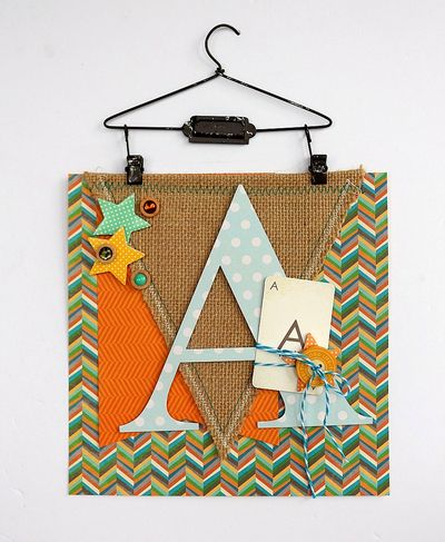 Door hanging by Sarah Webb