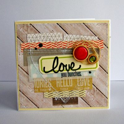 Nicole-love you bunches card