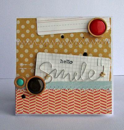 Nicole-hello smile card