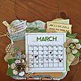March Calendar - Kristine Davidson