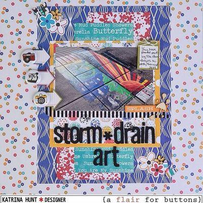 Katrina Hunt-Storm Drain Art