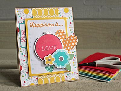 Happiness is love Kimberly Crawford