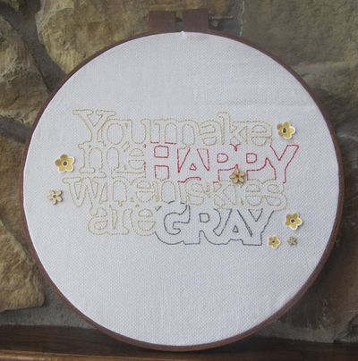 Project-Jen-You Make Me Happy Hoop