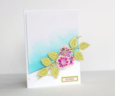 So lovely card by Sarah Webb