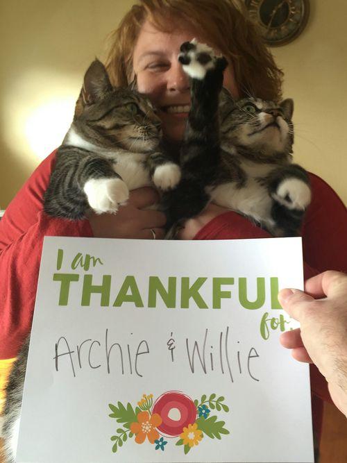 Kristine - thankful