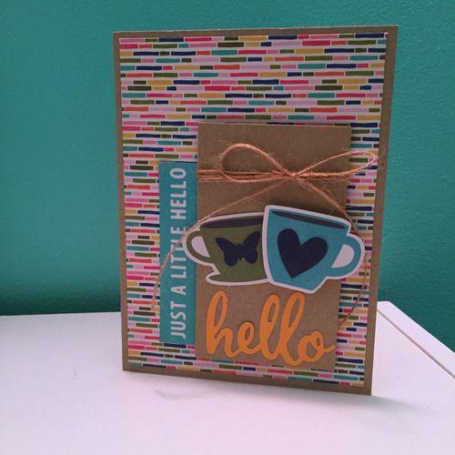 A Little Hello - Kristine Davidson