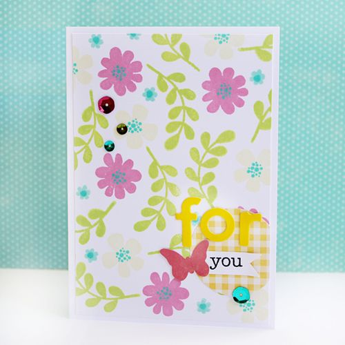 Gail-For-You-Flower-Card
