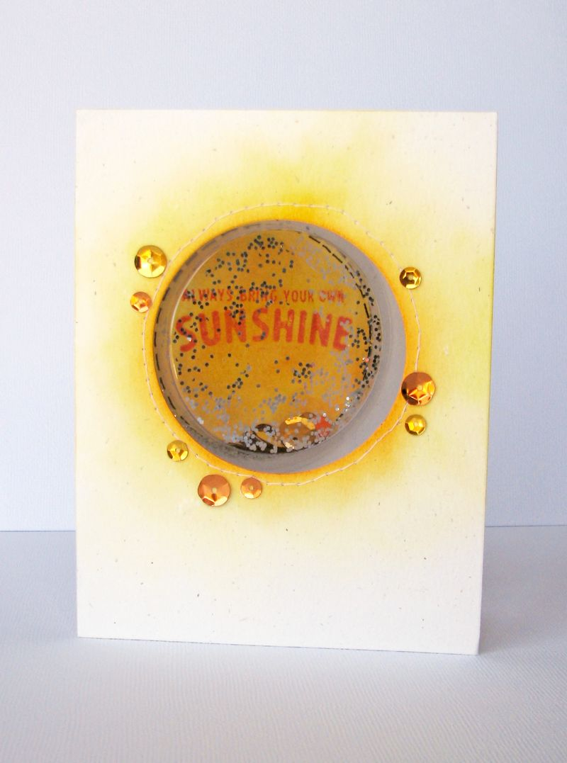 Nicole-bring your own sunshine card