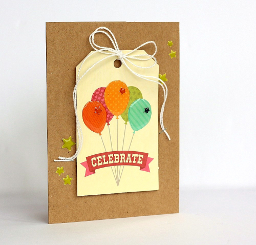 Celebrate cards by Sarah Webb