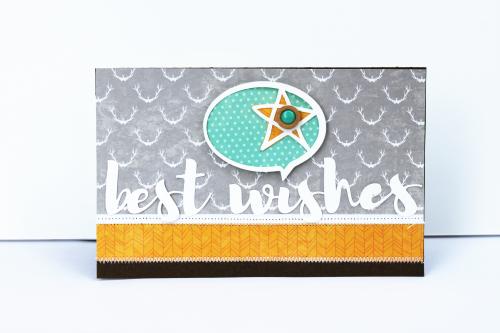 Best Wishes Card-Pfolchert