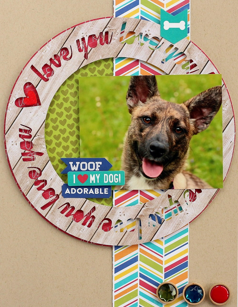 I love my dog layout by Sarah Webb (1)