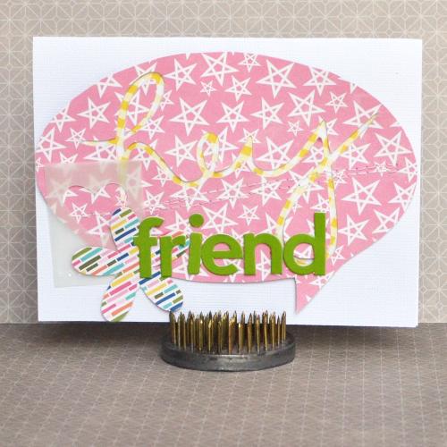 Amy-Hey Friend Card
