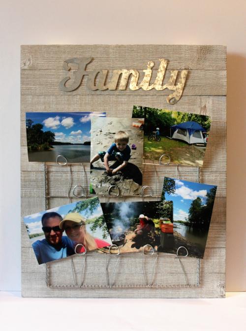 Patty-Family Photo Board wPhotos