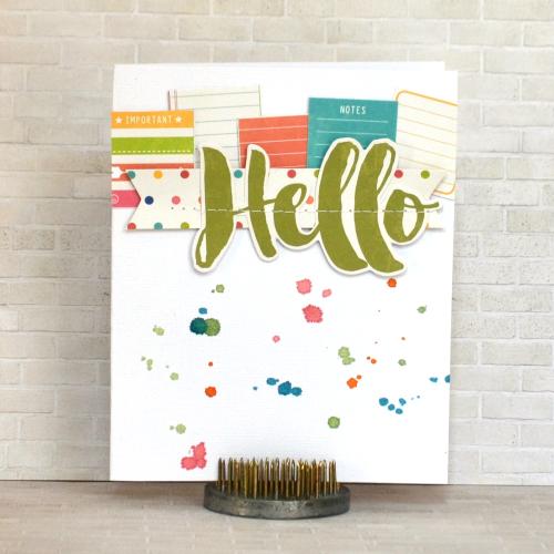 Hello Card-Amy
