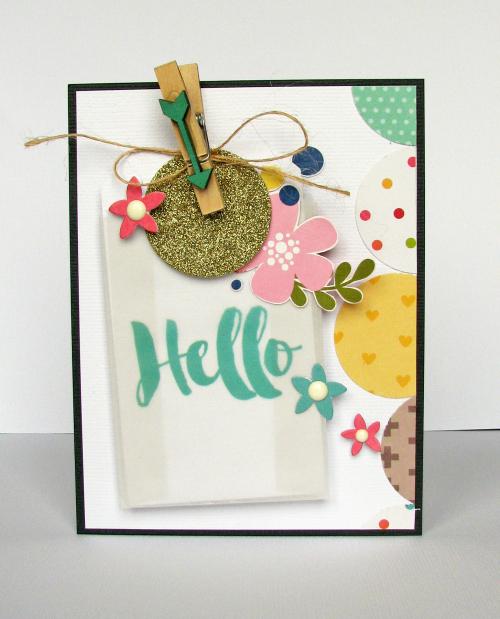 Hello card-Nicole