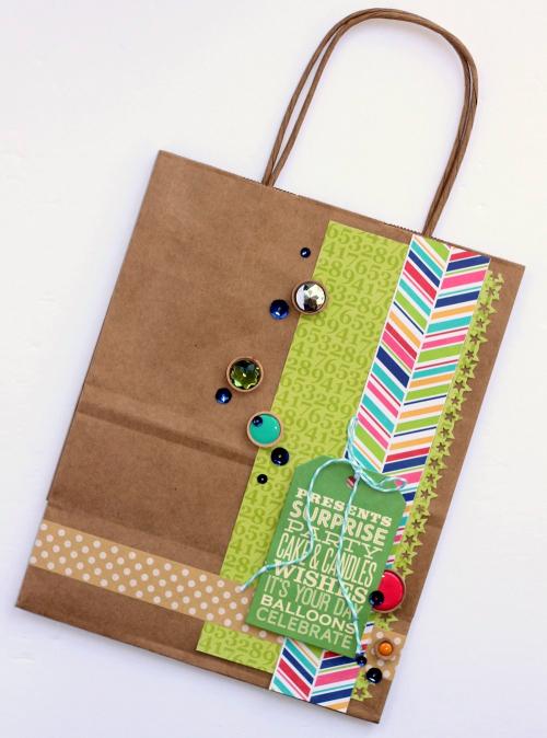 Gift bag by Sarah Webb
