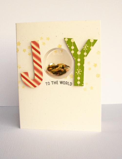 Nicole-Joy to the world card