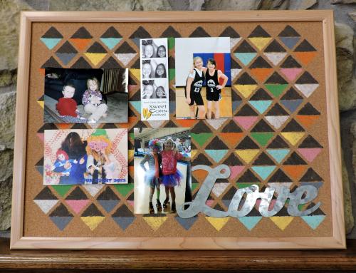 Jen-Corkboard with Pics