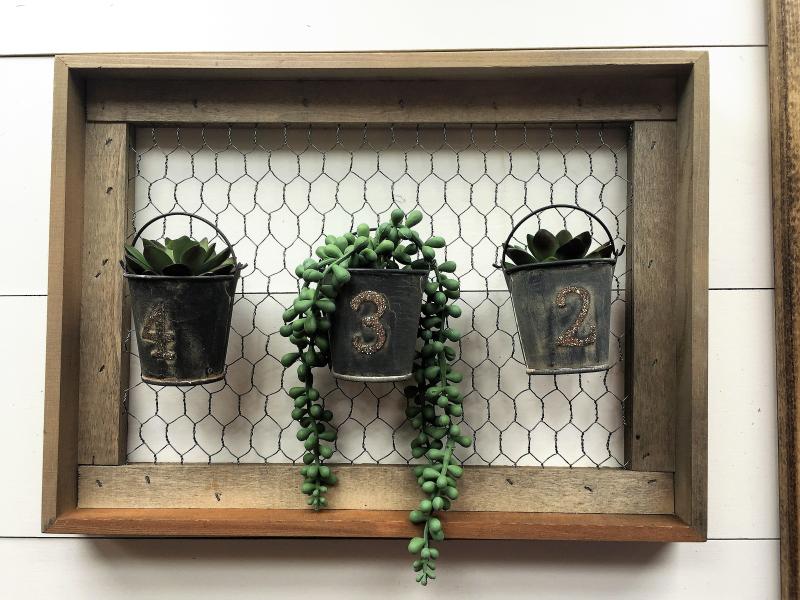 Patty-Succulent Wall Planter 1