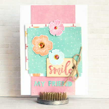 Amy-Smile friend Card