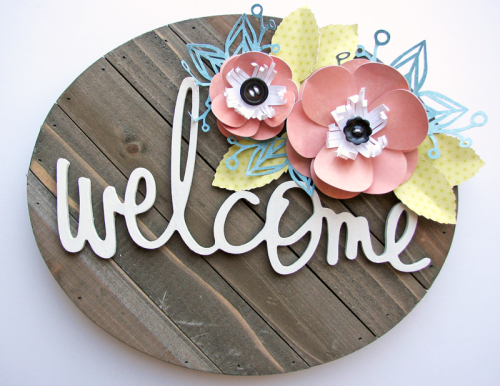 Nicole-Welcome sign