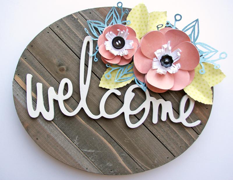 Nicole-Welcome sign