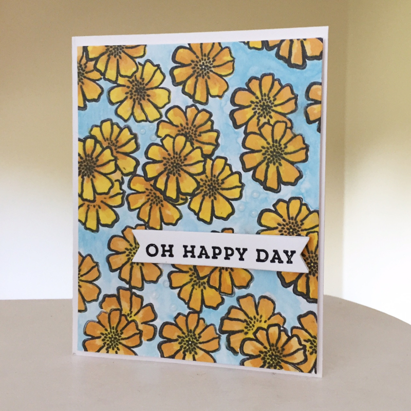 Card-Kristine-Oh Happy Day