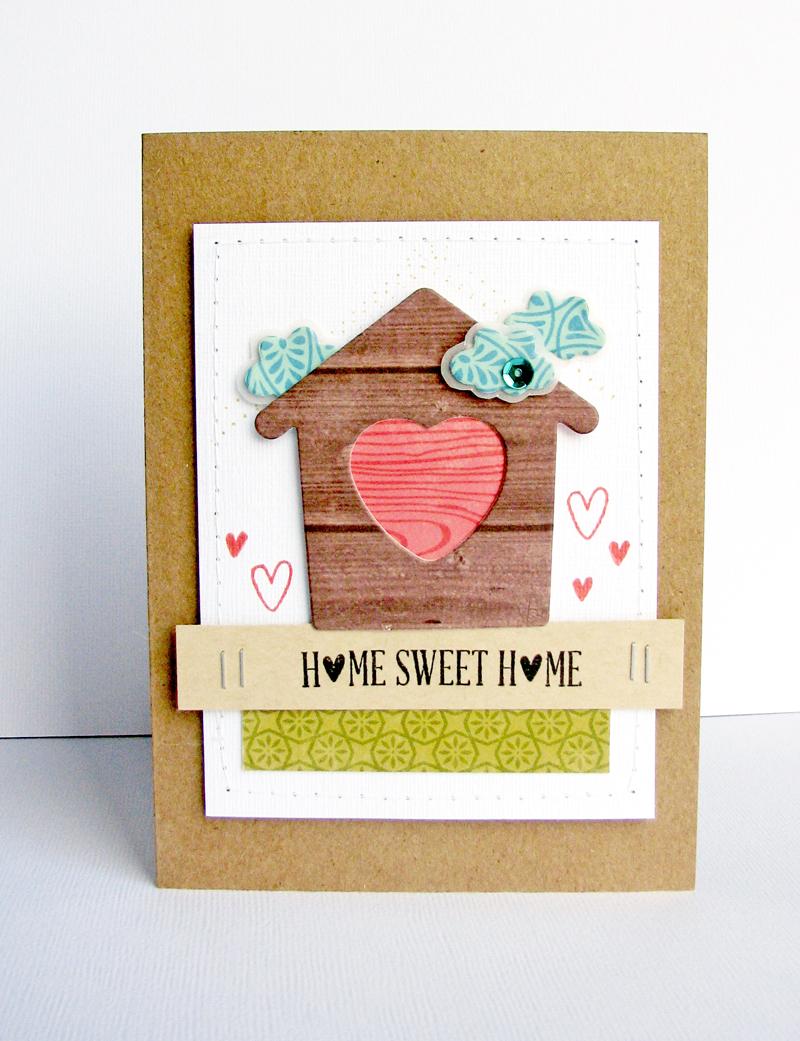 Nicole-Home Sweet Home card