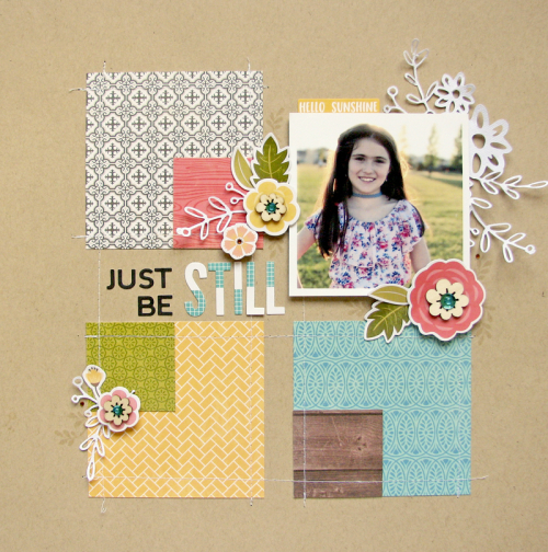 Nicole-Just be still layout