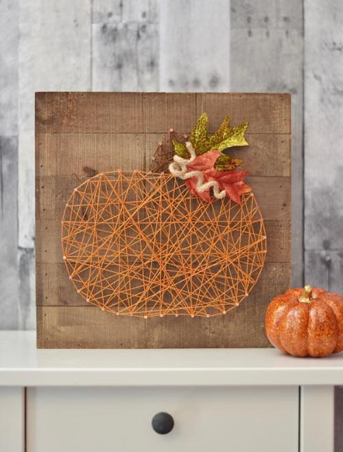 Brandi-Rustic Pumpkin String Art #1