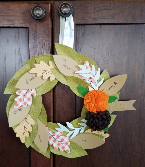 Jillibean Soup-Jen Harkin-Thanks Wreath-October 2017