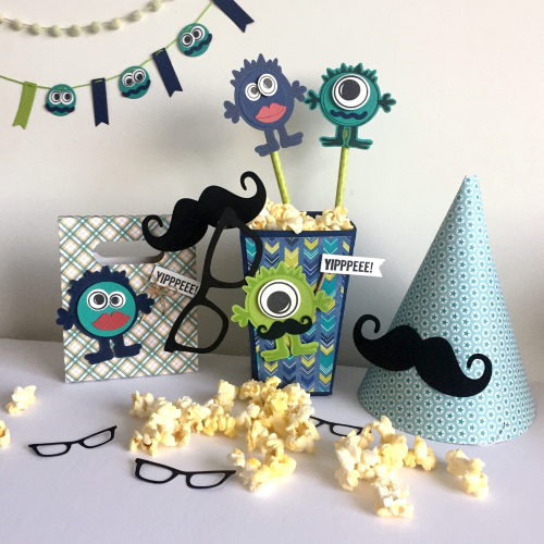 Jillibean Soup _ Kristine Davidson _ 2 Cool for School Party 8 _ Monster Stamp _ JBS1534_January 2018