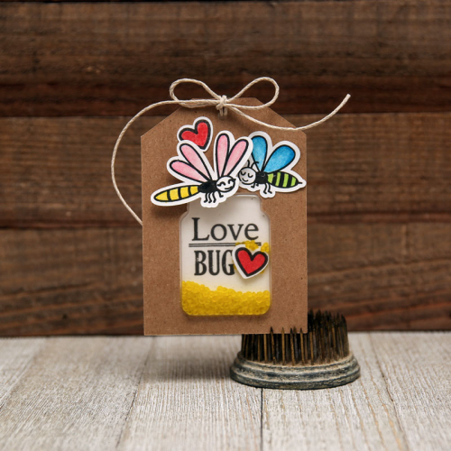 Jillibean-Soup-Summer-Fullerton-Shaker-Tag-Jar-JB1361-Love-Bug-Tag-Jan-2018