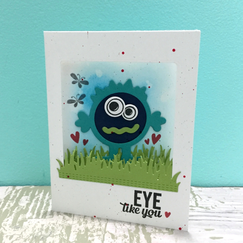 Jillibean Soup _ Kristine Davidson _ Eye Like You 1 _ Monster Stamp _ JBS1561_January 2018